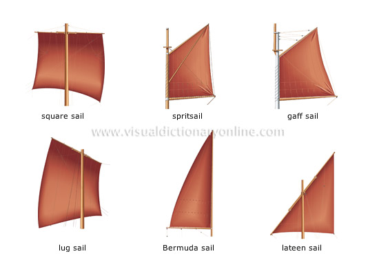 examples of sails